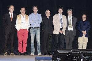 Rolf Apweiler - Rolf Apweiler (third from left) in 2015.