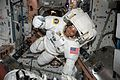 ISS-51 Jack Fischer during spacesuit fit check.jpg