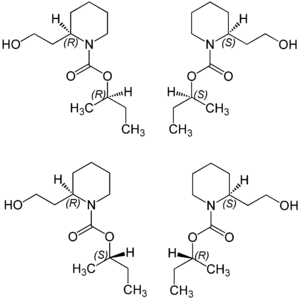 Icaridin - Stereoisomers of icaridin