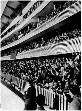1956 Winter Olympics - Olympic Ice Stadium in 1956