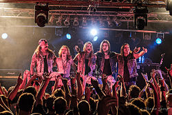 Iced Earth in Ludwigsburg, 2012