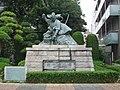 Ichikawa Danjuro Ⅸ Statue 04.JPG