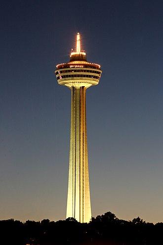 Skylon Tower - Image: Ilievaart falls 0805 7584smaller