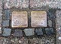 Im Kreise 24, Celle, Synagoge, Stolperstein russischer Kriegsgefangener, zuletzt in Oldau, David Klatschko, Jakob Gerschez, verhaftet 1939, deportiert Dachau Buchenwald Gefängnis Suwalki.jpg