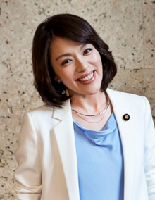 Imai during her inauguration as Parliamentary Vice Minister of the Cabinet Office (September 2019)