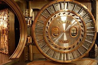 Bank vault - ''Fichet Paris'', Vault of Crédit Lyonnais