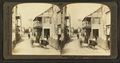In old St. George street, N. to Spanich city gate. St. Augustine, Florida, from Robert N. Dennis collection of stereoscopic views.png