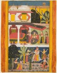 Malavi Ragini, from a Ragamala series