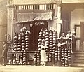 Indian chatty (pottery) shop - 1873.jpg