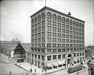 Indianapolis Traction Terminal - The Indianapolis Traction Terminal in 1907