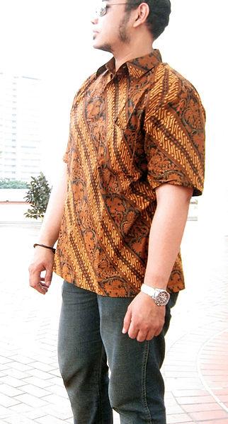 File:Indonesian Batik Shirt for Men.jpg - Wikimedia Commons