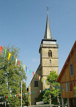 Ingersheim, Germany: Martinskirche Großingersheim