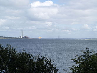 Tarbert, County Kerry - Tarbert powerstation (right)