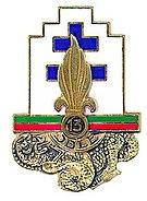 Insigne régimentaire de la 13e Demi-brigade de Légion étrangère