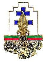 Insigne régimentaire de la 13e Demi-brigade de Légion étrangère.jpg