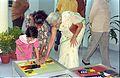 Interactive Area - Dinosaurs Alive Exhibition - Science City - Calcutta 1995-June-July 224.JPG