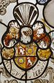 Interieur, glas-in-loodpaneel met gebrandschilderd glas, detail - Doorn - 20362568 - RCE.jpg