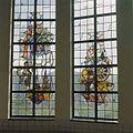 Interieur, trappenhuis, glas in loodraam - Egmond aan Zee - 20361289 - RCE.jpg