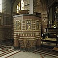 Interieur,overzicht van de preekstoel - Wehe-den Hoorn - 20386684 - RCE.jpg