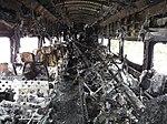 Interior of lead car in 2015 Valhalla train wreck.jpg
