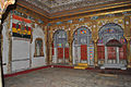 Interior view of a room in Meherangarh Fort Museum 01.jpg