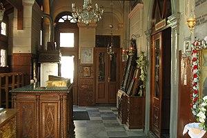 Church of St. Symeon, Mytilene - Image: Interiorsymeon