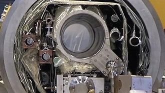 International Linear Collider - Image: International Linear Collider main linac cryomodule cross section