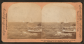 "International Yatcht Race, struggle between the ""Columbia"" and ""Shamrock for the America's Cup, Oct. 1899, by Keystone View Company.png"