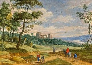 Izaak van Oosten Flemish painter