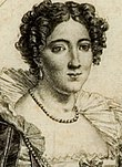 Isabella Colbran wahrscheinlich als Elisabetta (Quelle: Wikimedia)