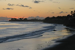 Isla Vista, California - Isla Vista beachfront at sunset