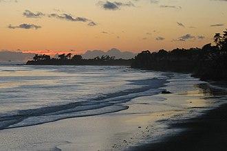 Isla Vista, California - Isla Vista beachfront at sunset