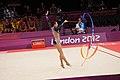 Israel Rhythmic gymnastics at the 2012 Summer Olympics (7915042562).jpg