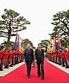 Italian President visiting Korea in September 2009 (4345790880).jpg