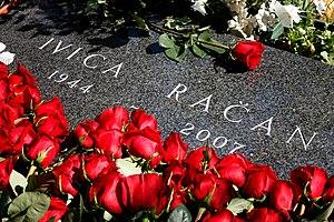 Ivica Račan - Ivica Račan's grave on Mirogoj cemetery, Zagreb