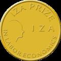 Iza prize medal.png