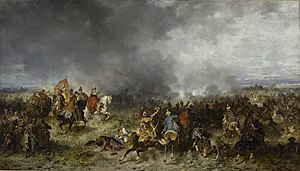 Battle of Khotyn (1621) - Battle of Chocim, by Józef Brandt