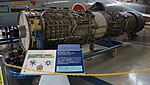 J79-IHI-11A turbojet engine left front view at Kakamigahara Aerospace Science Museum November 2, 2014 01.jpg