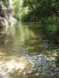 Río Cañamares, en Jaén