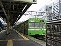 JNR 103 Nara-bound Nara Line local at Kyoto Station 2006-04-05.jpg
