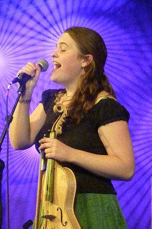 Jackie Oates - Oates in 2010