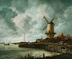 Jacob Isaacksz. van Ruisdael - Le Moulin de Wijk-bij-Duurstede.jpg