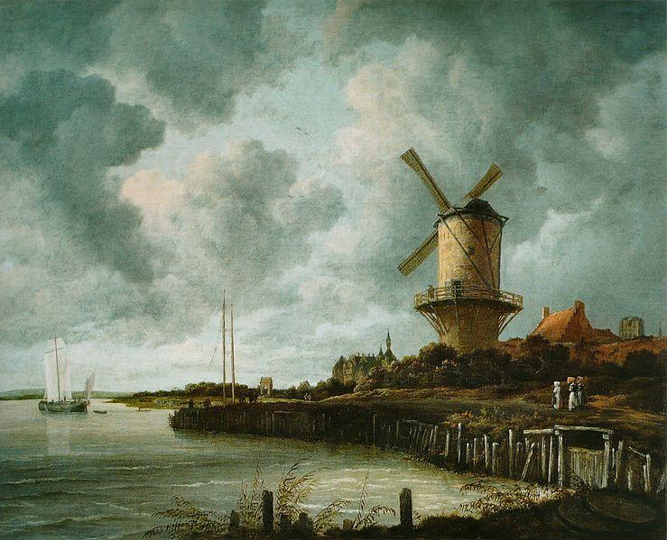 File:Jacob Isaacksz. van Ruisdael - Le Moulin de Wijk-bij-Duurstede.jpg