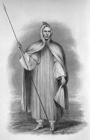 James Richardson (explorer) - James Richardson in Ghadamsee costume.