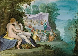 Sadeler family - Image: Jan Sadeler Hochzeit von Peleus und Thetis