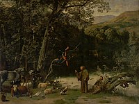 Jan Siberechts - Saint Francis Preaching to the Animals.jpg
