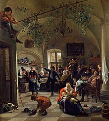Jan Steen - Merrymaking in a Tavern WLC WLC P158.jpg