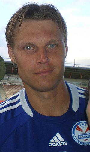 Edgaras Jankauskas - Jankauskas as a Skonto player