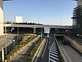 Japan National Route 2 in front of Maiko Station 2.jpg