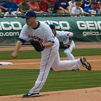 Jason Jennings - Jennings with the Texas Rangers